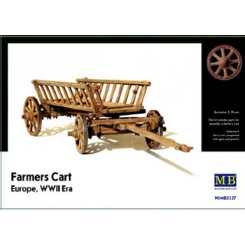 1:35 Farmers Cart, Europe, WWII Era  1:35