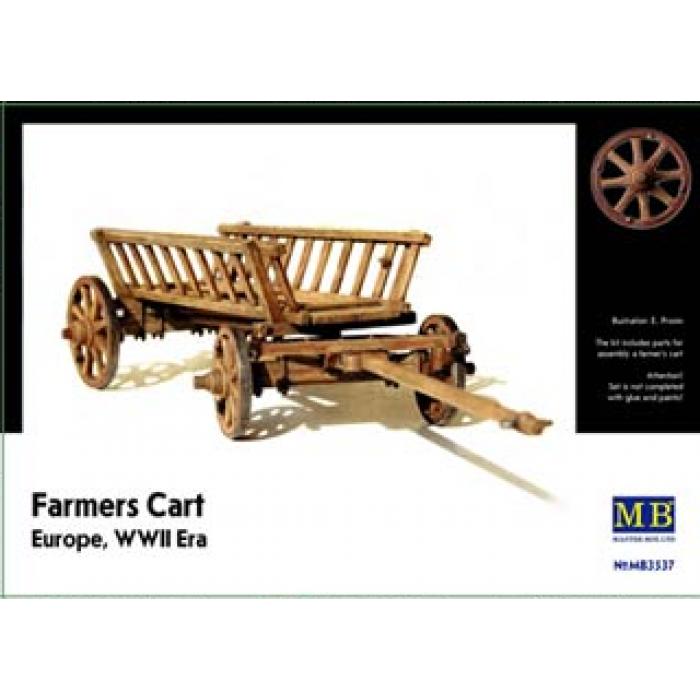 1:35 Farmers Cart, Europe, WWII Era  1:35
