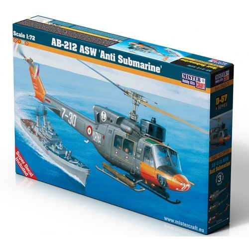 1:72 AB-212 ASW Anti Submarine 1:72