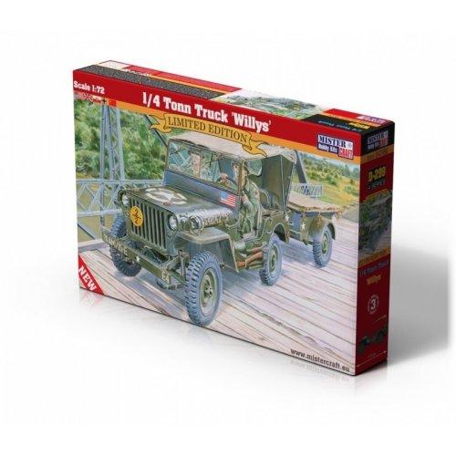 1:72 1/4 Tonn Truck Willys 1:72