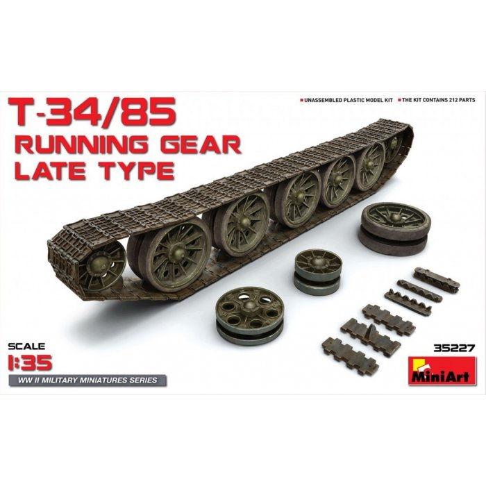 1:35 T-34/85 Running Gear. Late Type 1:35
