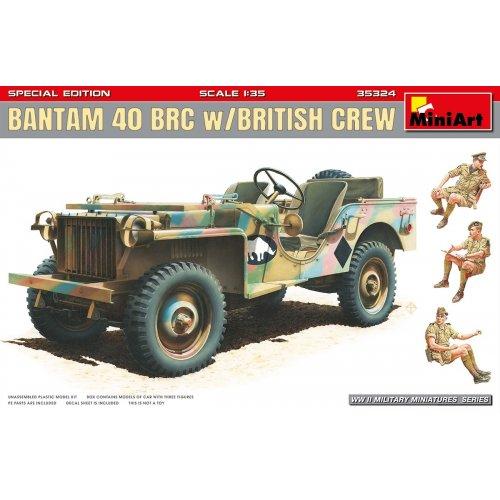 1:35 Bantam 40 BRC w/British Crew. Special Edition 1:35