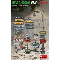 1:35 ROAD SIGNS WWII ITALY 1:35