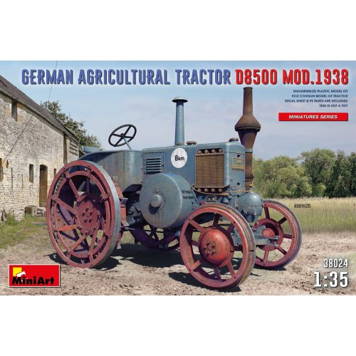 1:35 German Agricultural Tractor D8500 Mod. 1938 1:35