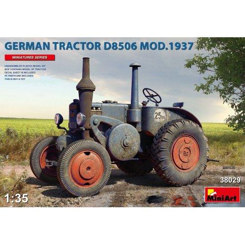 1:35 German Tractor D8506 Mod. 1937 1:35