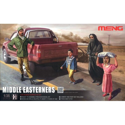 1:35 Middle Easterners in The Street - 3 figures 1:35
