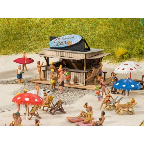 Beach Bar (7.6 x 5 cm 4.9 cm high) - H0 H0 /1:87/