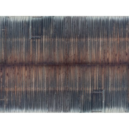 "3D Cardboard Sheet ""Timber Wall"" weathered, 25 x 12.5 cm (H0) H0 /1:87/"