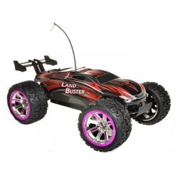 Masina NQD, Land Buster 1:12 Monster Truck RTR 27/40MHz - Rosu