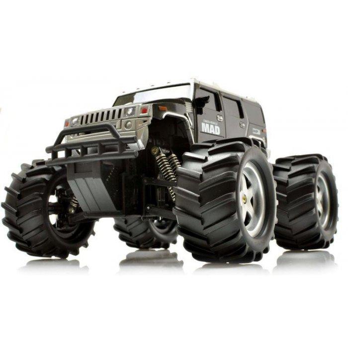 Masina NQD, Mad Monster Truck 1:16 27/40MHz RTR Cu Telecomanda - Negru