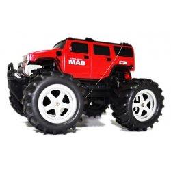 Masina NQD, Mad Monster Truck 1:16 27/40MHz RTR Cu Telecomanda - Rosu