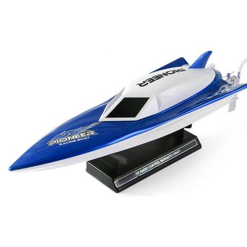 Barca Nqd, Storm Racing 2.4GHz 30km/h RTR cu Telecomanda - Albastru