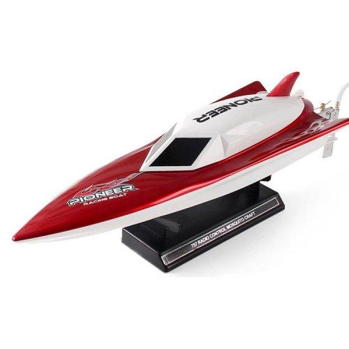 Barca NQD, Storm Racing boat 2.4GHz 30km/h RTR Cu Telecomanda - Rosu