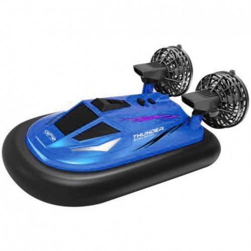Barca NQD, Hovercraft 1:10 2.4GHz RTR Cu telecomanda - Albastru