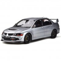 MITSUBISHI LANCER EVO 8 MR FQ-400 COOL GREY 2005  LE 999 pcs. 1:18