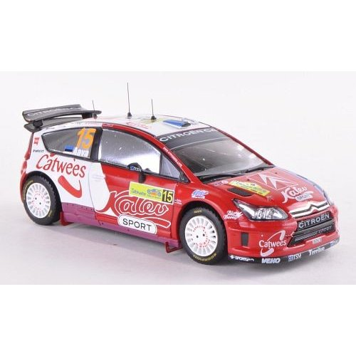 Macheta auto IXO, Citroen C4 Greece 2008 - K Sikk 1:43