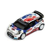 Macheta Auto IXO, CITROEN DS3 WRC #22 B.BOUFFIER-X.PANSERI RALLY MONTE CARLO 2013 1:43