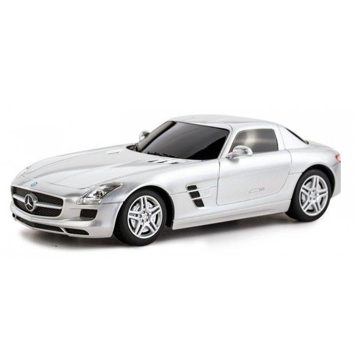 Masina Rastar Mercedes-Benz SLS AMG Scara 1:24 RTR - Gri