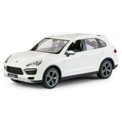 Masina, Rastar, Porsche Cayenne Turbo 1:14 RTR Cu Telecomanda - Alb