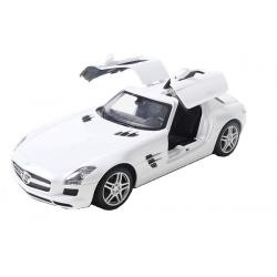 Masina Rastar Mercedes-Benz SLS Scara 1:14 RTR Cu Telecomanda - Alb