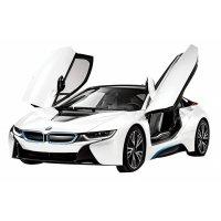 Masina Rastar, BMW i8 1:14 RTR cu telecomanda Alb