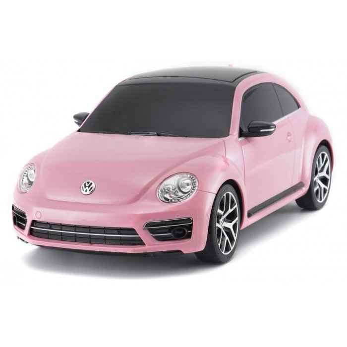 Masina Rastar, Volkswagen Beetle 1:14 RTR cu telecomanda pink
