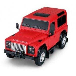 Masina Rastar, Land Rover Denfender 1:24 RTR cu Telecomanda - Rosu
