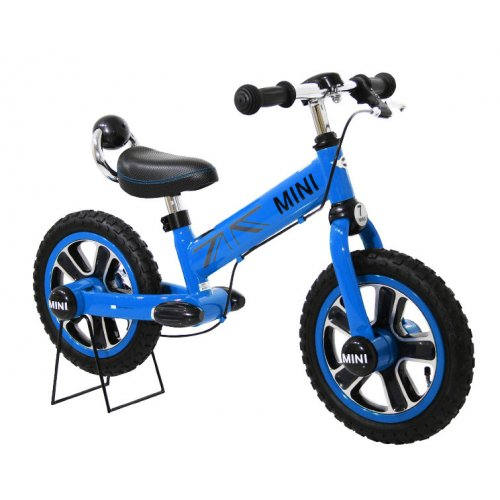 Bicicleta MINI balance cu frana de mana, albastru