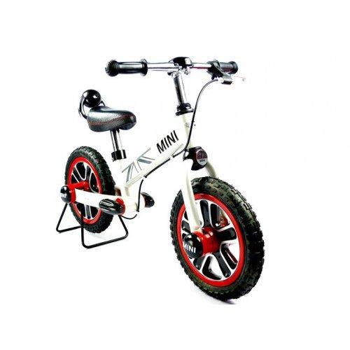 Bicicleta MINI balance cu frana de mana, Alb