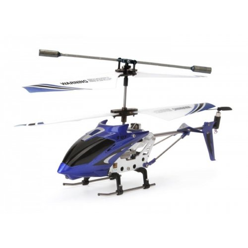 Elicopter Syma, S107G Raza 15m, infrarosu, Cu telecomanda - Albastru