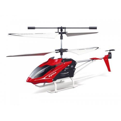 Elicopter Syma, S5, 20m, infrared, Rosu cu telecomanda