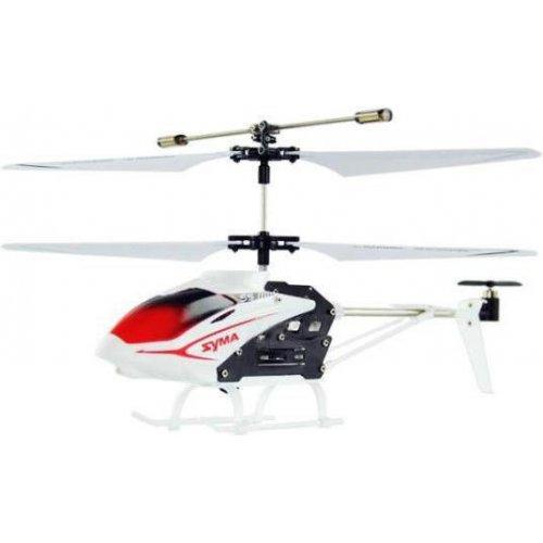 Elicopter Syma, S5 20m, infrared, 6 min, Alb cu telecomanda