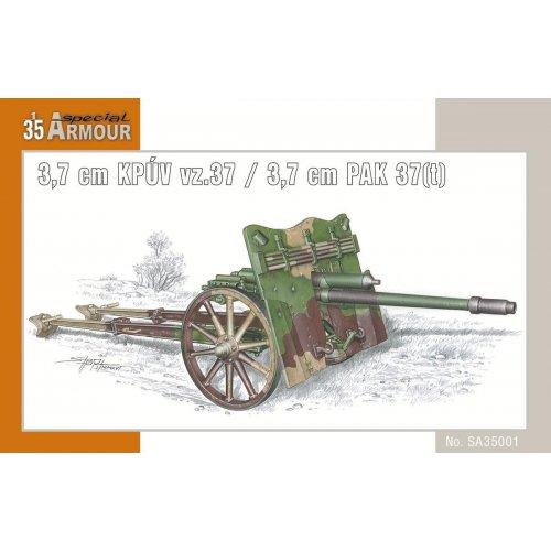 1:35 3.7 cm KPUV vz.37 / 3.7 cm PAK 37(t) 1:35