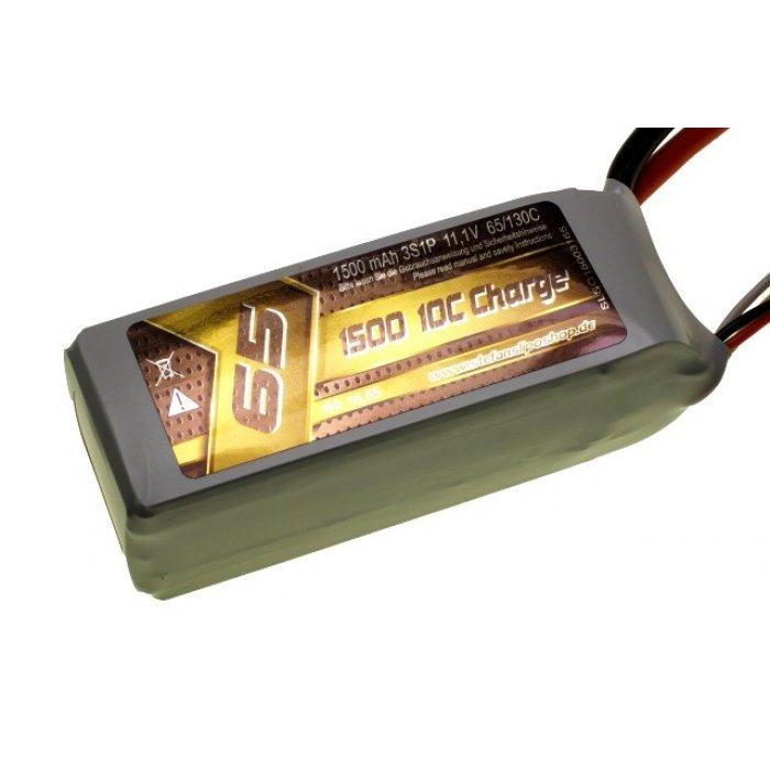 1500mAh 11.1V 65/130C SLS Quantum