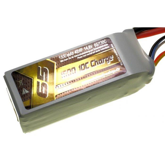 1500mAh 14.8V 65/130C SLS Quantum