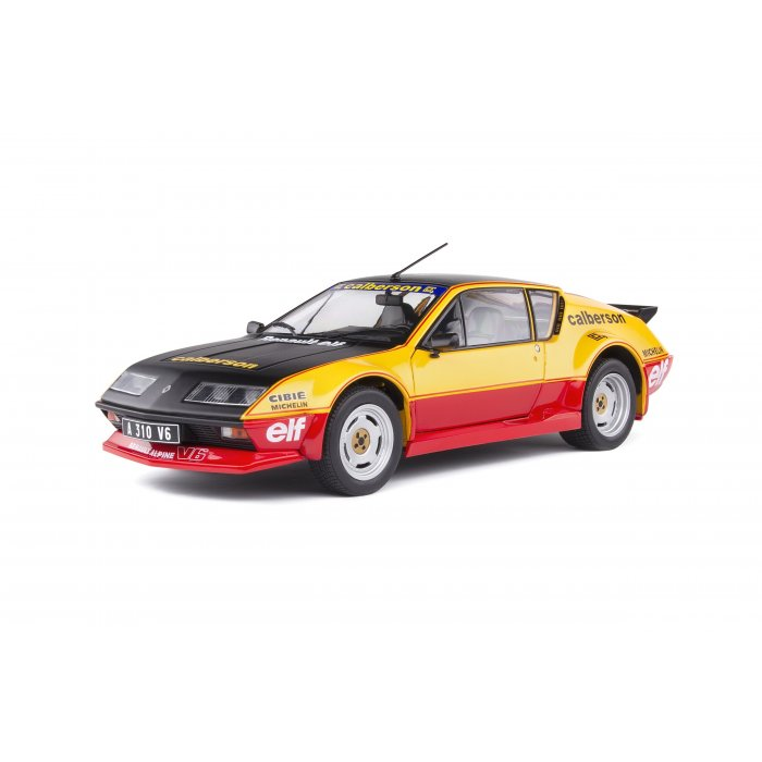 ALPINE A310 PACK GT - CALBERSON EVOCATION - 1983 1:18