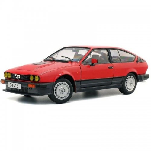 ALFA ROMEO GTV6 - RED 1984 1:18