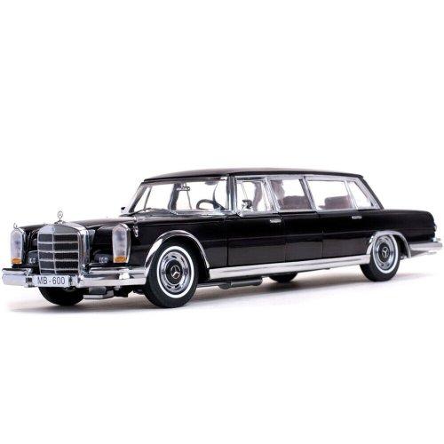 1966 Mercedes-Benz 600 Pullman Black 1:18
