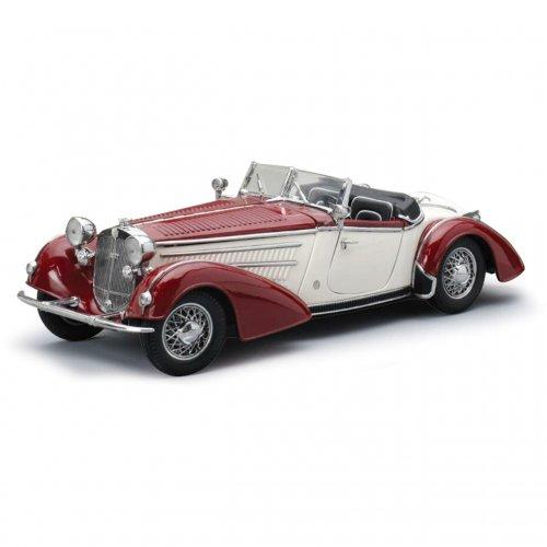 1939 HORCH 855 ROADSTER Dark Red/White 1:18
