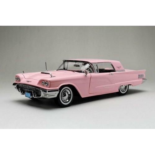 1960 Ford Thunderbird Hard Top Pink 1:18