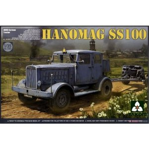 1:35 WWII German Tractor Hanomag SS100 1:35