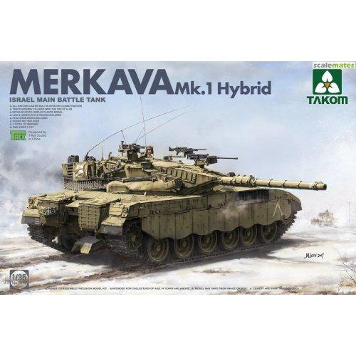 1:35  Israeli Main Battle Tank Merkava 1 Hybird 1:35