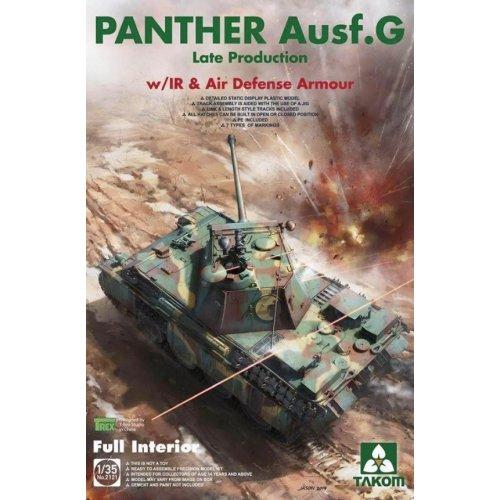 1:35  WWII German medium Tank   Panther Ausf.G late production w/ IR &Air Defense Armour 1:35