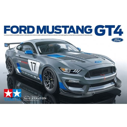 1:24 Ford Mustang GT4 1:24