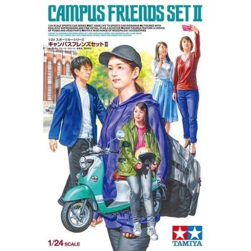 1:24 Campus Friends Set II 1:24