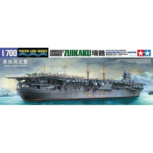1:700 Japanese Aircraft Carrier Zuikaku (Water Line Series, Pearl Harbor Attack) 1:700