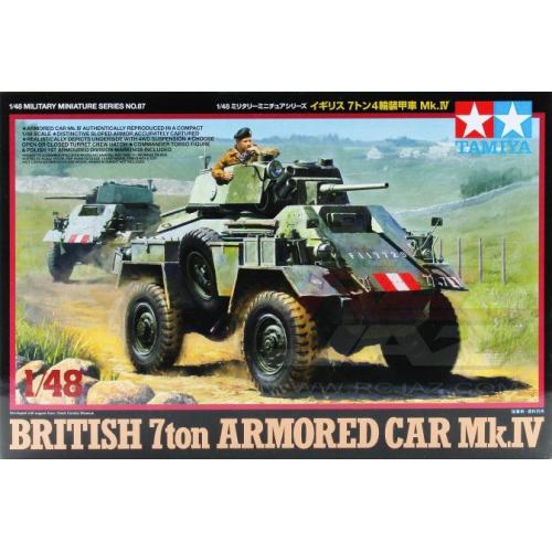 1:48 British 7ton Armored Car Mk.IV 1:48