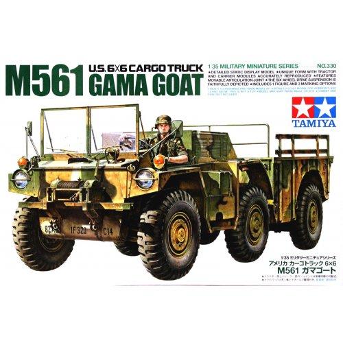 1:35 American 6x6 M561 Gamma Goat - 1 figure 1:35
