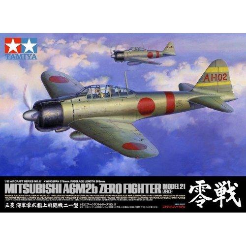 1:32 Mitsubishi A6M2b Zero Fighter Model 21 (Zeke) 1:32