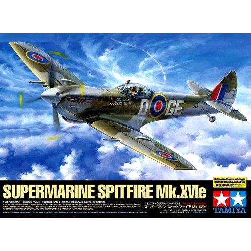 1:32 British IIWW fighter Supermarine Spitfire Mk.XVIe - 1 figure 1:32